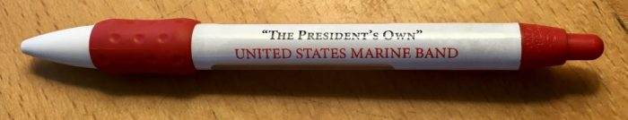 """The """"President's Own"""" is the Marine band that accompanies the president everywhere."""