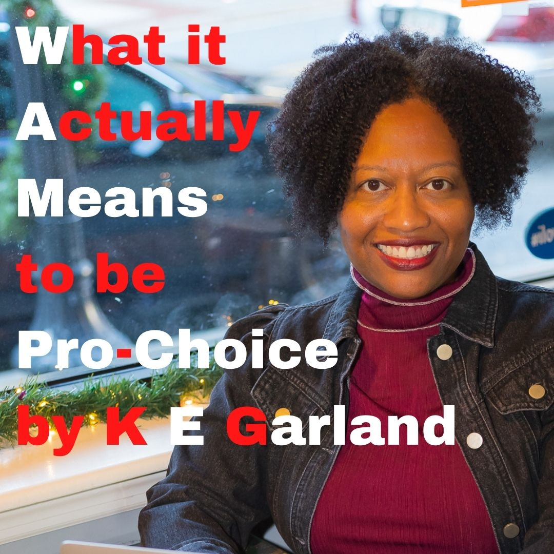 Blogger/author/teacher K E Garland.