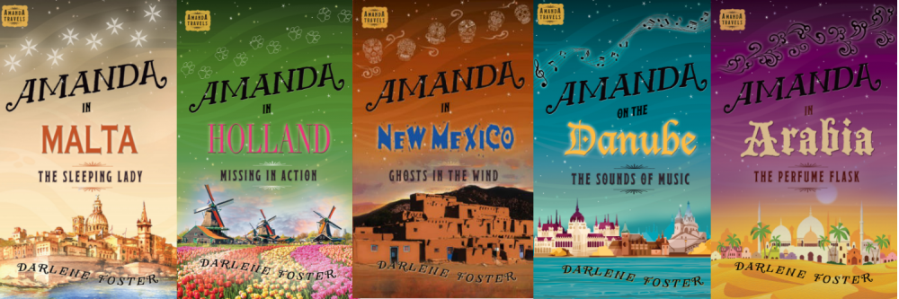 Covers of some of the many books Darlene Foster has published.