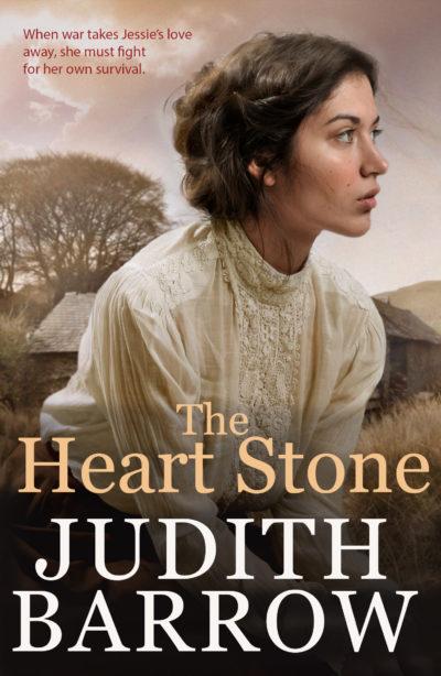 "Cover of ""Heart Stone,"" a novel by Judith Barrow."