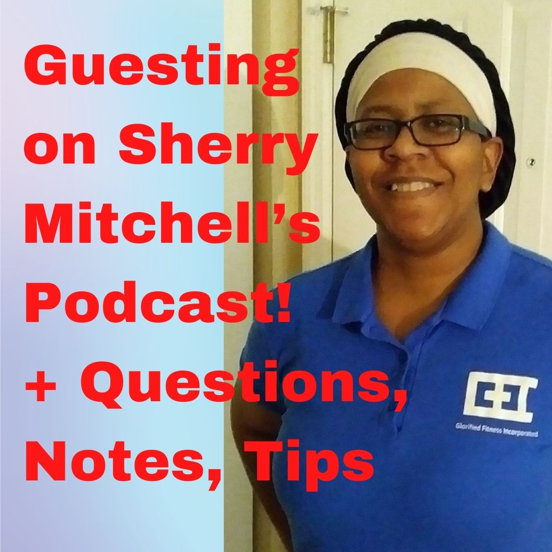 """""""Reach the Unreachable"""" podcaster Sherry Mitchell, founder/owner of Glorified Fitness Incorporated (GFI)."""